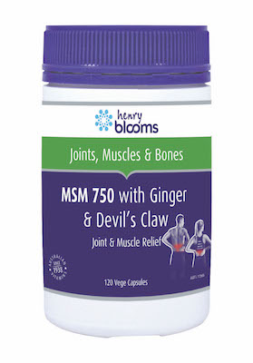 Buy Blooms MSM 750 with Ginger & Devil's Claw  Blooms Health